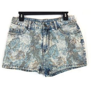 BDG high rise Erin 5 pocket shortie shorts A0135
